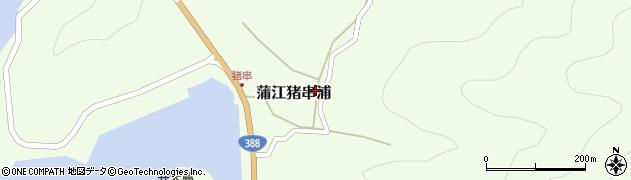 大分県佐伯市蒲江大字猪串浦513周辺の地図