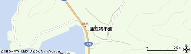 大分県佐伯市蒲江大字猪串浦508周辺の地図