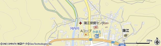 大分県佐伯市蒲江大字蒲江浦3554周辺の地図