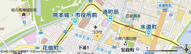 東京スカイクリニック 熊本院周辺の地図
