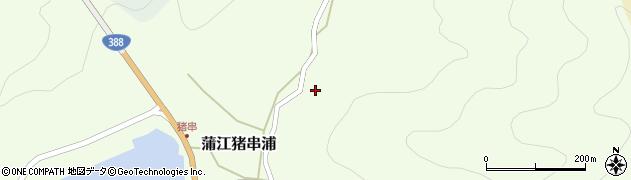 大分県佐伯市蒲江大字猪串浦626周辺の地図
