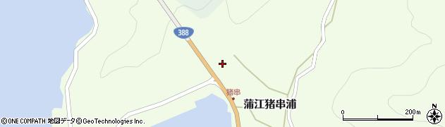 大分県佐伯市蒲江大字猪串浦845周辺の地図