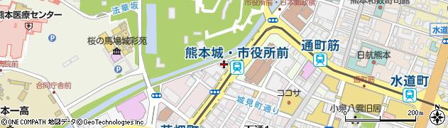 ヘルスアートクリニックくまもと周辺の地図