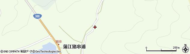 大分県佐伯市蒲江大字猪串浦746周辺の地図