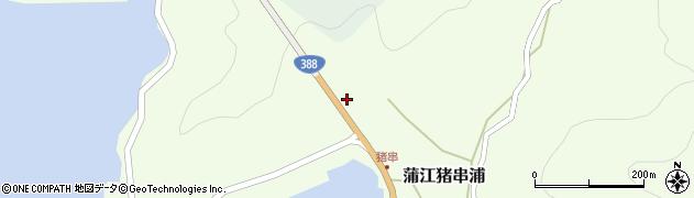 大分県佐伯市蒲江大字猪串浦876周辺の地図