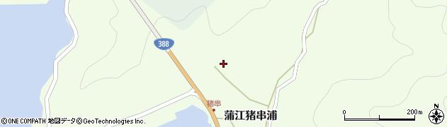 大分県佐伯市蒲江大字猪串浦844周辺の地図