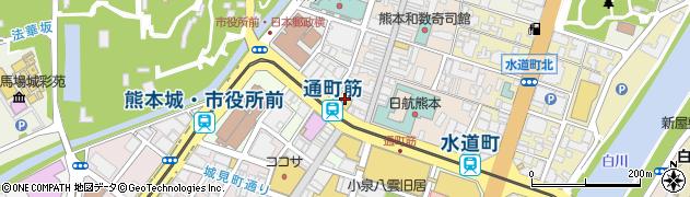 通町眼科医院周辺の地図