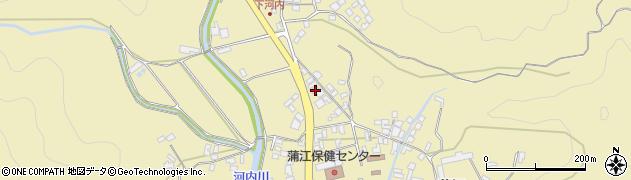 大分県佐伯市蒲江大字蒲江浦3589周辺の地図
