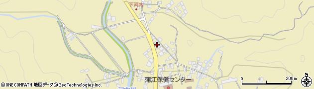 大分県佐伯市蒲江大字蒲江浦3581-1周辺の地図