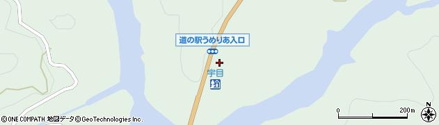 大分県佐伯市宇目大字南田原2513周辺の地図