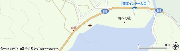 大分県佐伯市蒲江大字森崎浦1478周辺の地図