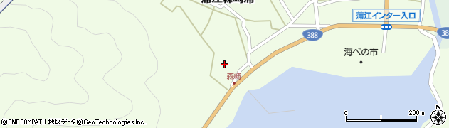 大分県佐伯市蒲江大字森崎浦1681周辺の地図
