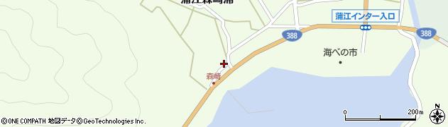 大分県佐伯市蒲江大字森崎浦1552周辺の地図