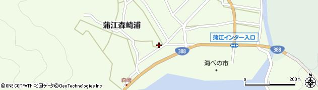 大分県佐伯市蒲江大字森崎浦1411周辺の地図