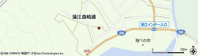 大分県佐伯市蒲江大字森崎浦1430周辺の地図