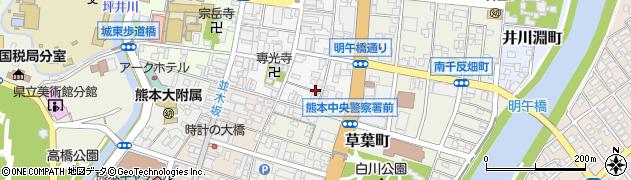 タイムズ南坪井町第2周辺の地図