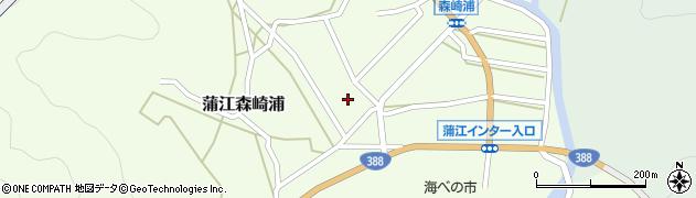 大分県佐伯市蒲江大字森崎浦1378周辺の地図
