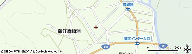 大分県佐伯市蒲江大字森崎浦275周辺の地図