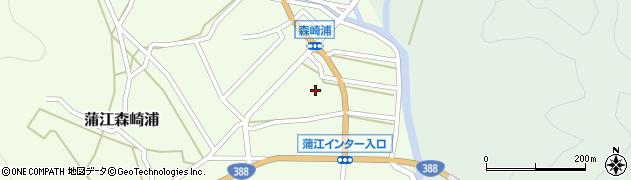 大分県佐伯市蒲江大字森崎浦134周辺の地図