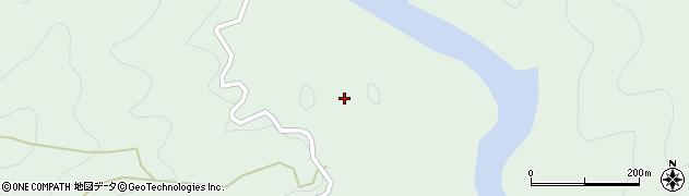 大分県佐伯市宇目大字南田原2400周辺の地図