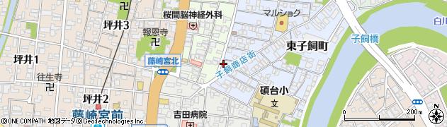 忍法寺周辺の地図