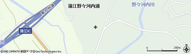 大分県佐伯市蒲江大字野々河内浦635周辺の地図