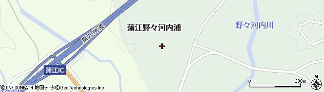 大分県佐伯市蒲江大字野々河内浦2周辺の地図