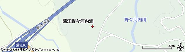 大分県佐伯市蒲江大字野々河内浦827周辺の地図
