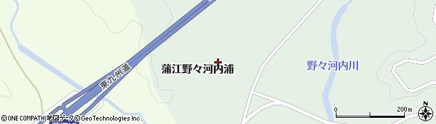 大分県佐伯市蒲江大字野々河内浦1295周辺の地図