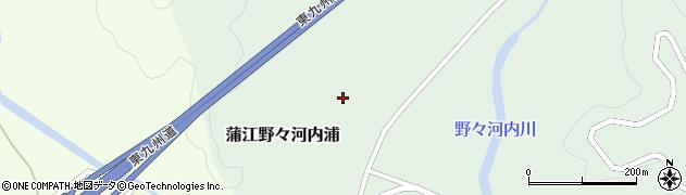 大分県佐伯市蒲江大字野々河内浦1361周辺の地図