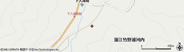 大分県佐伯市蒲江大字竹野浦河内625周辺の地図