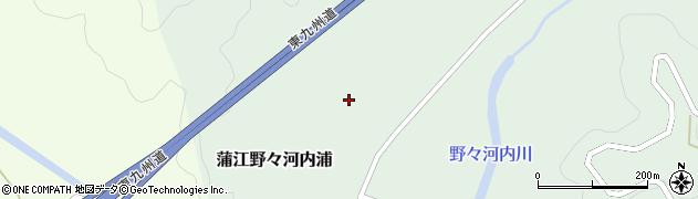 大分県佐伯市蒲江大字野々河内浦1430周辺の地図