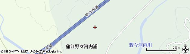 大分県佐伯市蒲江大字野々河内浦1412周辺の地図