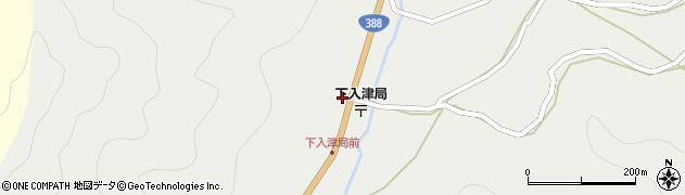 大分県佐伯市蒲江大字竹野浦河内341周辺の地図