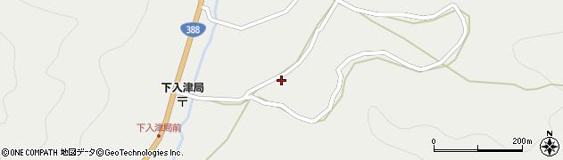 大分県佐伯市蒲江大字竹野浦河内676周辺の地図