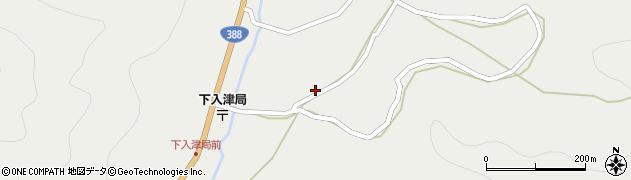 大分県佐伯市蒲江大字竹野浦河内740周辺の地図