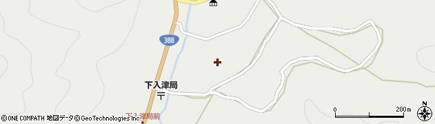 大分県佐伯市蒲江大字竹野浦河内891周辺の地図