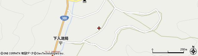 大分県佐伯市蒲江大字竹野浦河内879周辺の地図