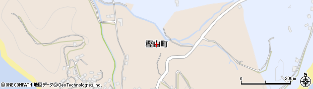 長崎県長崎市樫山町周辺の地図