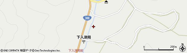 大分県佐伯市蒲江大字竹野浦河内310周辺の地図