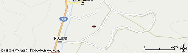 大分県佐伯市蒲江大字竹野浦河内886周辺の地図