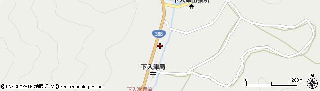 大分県佐伯市蒲江大字竹野浦河内313周辺の地図