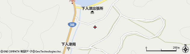 大分県佐伯市蒲江大字竹野浦河内899周辺の地図