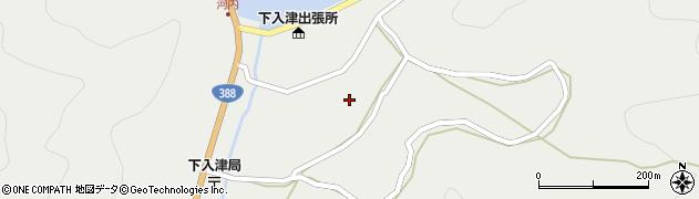大分県佐伯市蒲江大字竹野浦河内935周辺の地図