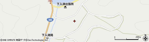 大分県佐伯市蒲江大字竹野浦河内910周辺の地図