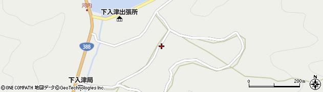 大分県佐伯市蒲江大字竹野浦河内994周辺の地図