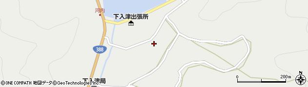 大分県佐伯市蒲江大字竹野浦河内951周辺の地図