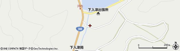 大分県佐伯市蒲江大字竹野浦河内292周辺の地図