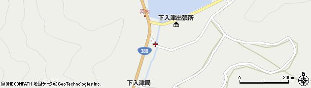 大分県佐伯市蒲江大字竹野浦河内291周辺の地図