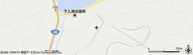 大分県佐伯市蒲江大字竹野浦河内991周辺の地図